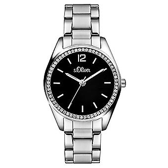 s. Oliver Analog quartz ladies with stainless steel strap SO-3461-MQ