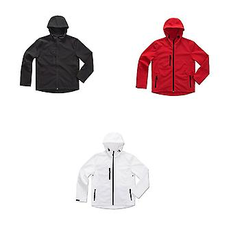 Stedman Mens Active Softest Shell Hooded Jacket