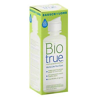 Bausch + lomb biotrue multipurpose solution, soft contact lenses, 4 oz
