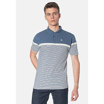 Merc CLARENCE, Colour Block Stripes Men's Polo Shirt