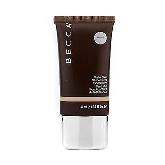 Matte skin shine proof foundation # noisette 160994 40ml/1.35oz