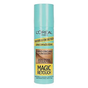 Rötter Concealer Magic Retouch L'Oreal Make Up Dark Blonde (75 ml)