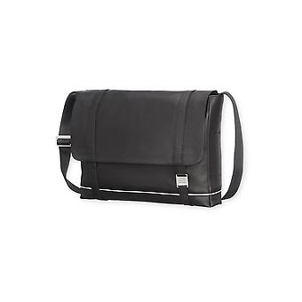 Moleskine lineage leather bag messenger for devices up to 15