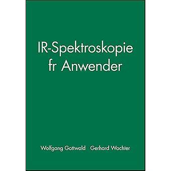 Ir-spektroskopie Fur Anwender by Wolfgang Gottwald - Gerhard Wachter