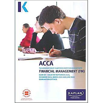 FINANCIAL MANAGEMENT - EXAM KIT by KAPLAN PUBLISHING - 9781787404120