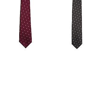 Premier Mens geweven pleinen werken Tie (Pack van 2)