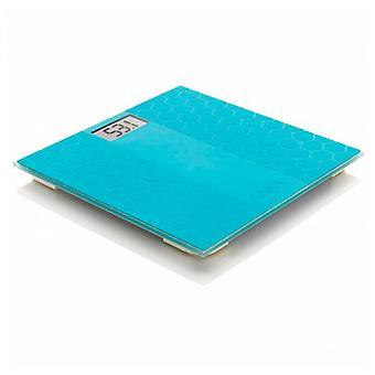 Digitale weegschaal laica PS1070B 180 kg blauw