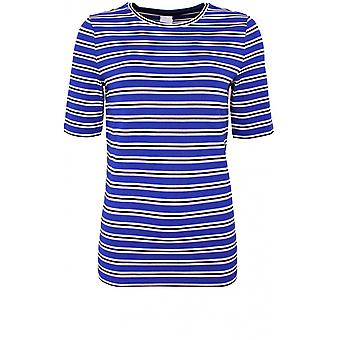 Camiseta de Taifun Blue and White Jersey