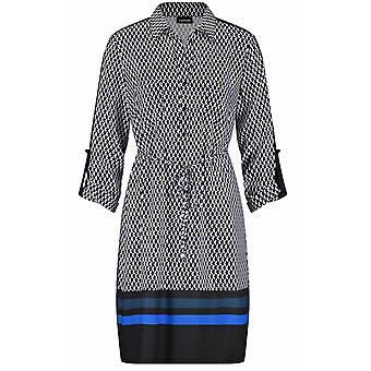 Taifun Bold Patterned Dress