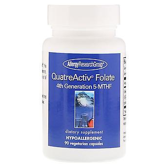 QuatreActiv Folate 4a Generazione 5-MTHF 90 Capsule Vegetariane - Gruppo di Ricerca Allergologia