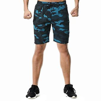 Allthemen Men's Tethered Camouflage Casual Sports Shorts