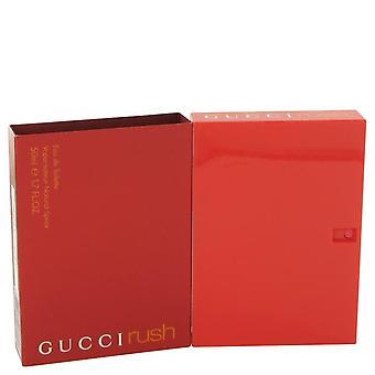 Gucci Rush Eau De Toilette Spray av Gucci 1,7 oz Eau De Toilette Spray