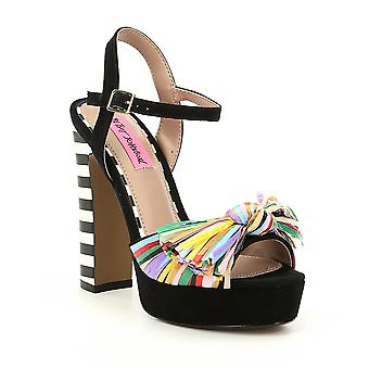 Betsey Johnson Womens Mandy Open Toe Special Occasion Slingback Sandals
