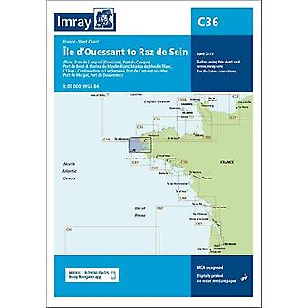 Imray Chart C36 - Ile d'Ouessant to Raz de Seine by Imray - 9781786791