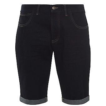SoulCal Mens Denim Shorts Bottoms Button Waist Zip Fly Belt Loops 5 Pockets