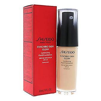 Flytende sminke base hud glød shiseido SPF20 (30 ml)/R2