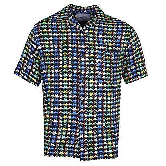 Flanelle portugais passé futur bouton chemise