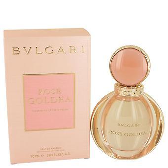 Rose Goldea Eau De Parfum Spray por Bvlgari 3 oz Eau De Parfum Spray