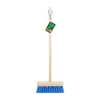 Ambassador Kids Long Wooden Handle Sweeping Brush