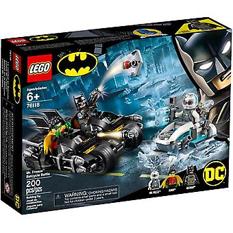 LEGO 76118 Mr. Freeze Het Batcycle-gevecht