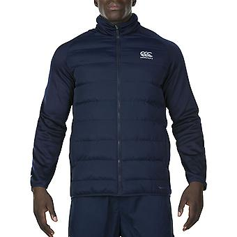 Canterbury Mens Thermoreg Quilted Insulated Hybrid Jacket