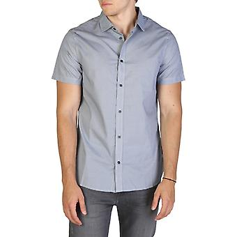 Man cotton long shirt t-shirt top ae29111