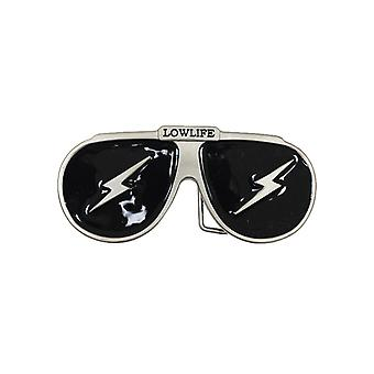 Lowlife Shades Buckle in Dull Silver