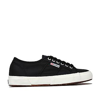 Women's Superga 2750 Plus Nylon Classic Pumps in Black