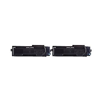 RudyTwos 2x Replacement for Kyocera TK-1160 Toner Unit Black Compatible with ECOSYS P2040dn, P2040dw