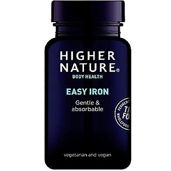 Higher Nature True Food Easy Iron Vegetable Capsules 90 (TIR090)