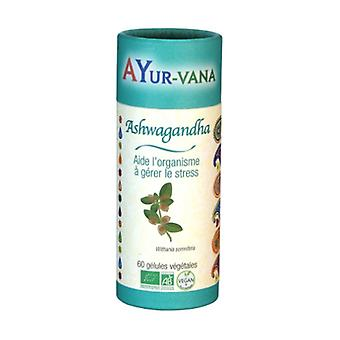Ashwagandha Bio 60 vegetable capsules