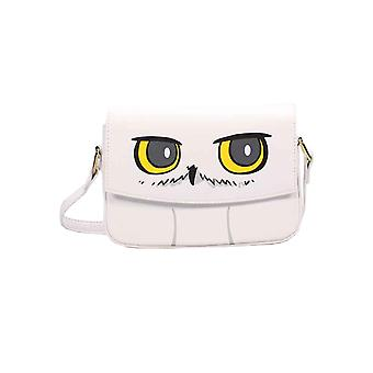 Harry Potter Mini Cross Body Bag Hedwig Owl face new Official White