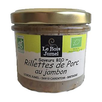 Pork Rillettes with Organic Ham 90 g