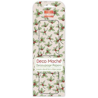 Première édition Deco Mache Holly