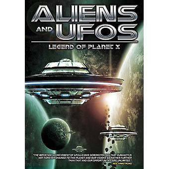 Aliens & Ufos: Legend of Planet X [DVD] USA import