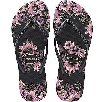 Havaianas Slim Organic Womens Flip Flops
