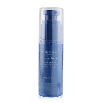 Quick Refiner - Leave-on Gel Aha Exfoliator With Glycolic + Multi-fruit Acids - For All Skin Types Except Sensitive - 30