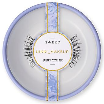 SWEED x Nikki_Makeup False Eyelashes - Sultry Corner - Soft Natural Look Lashes