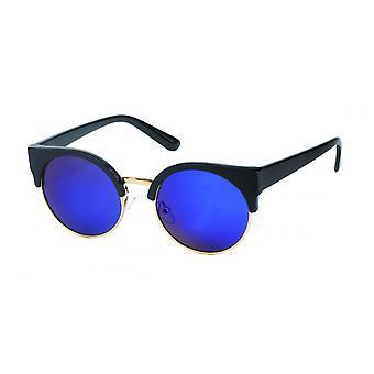 Gafas de sol Panto de mujer azul/negro (PZ20-044)