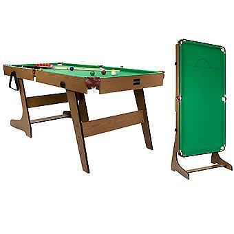 Charles Bentley 6ft Premium Pub Style Snooker & Pool Spieltisch
