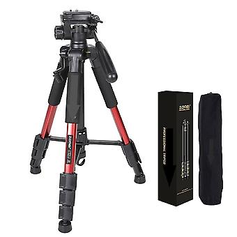 Professional Portable Travel Aluminum Camera Tripod&pan Head For Slr Dslr Digital Camera Three Color