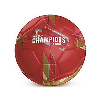 Liverpool FC Champions Of Europe Football Size 5 LI06743