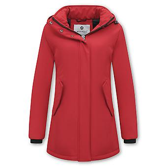 Winter coat Parka - Slim Fit - Red