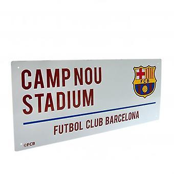 Barcelona-Straßenschild