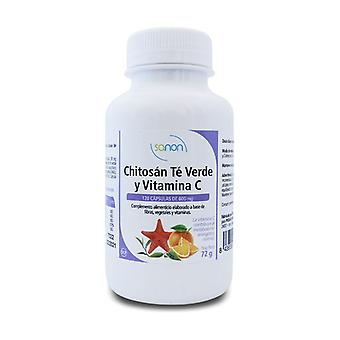 Chitosan, Green Tea and Vitamin C 150 capsules of 600mg
