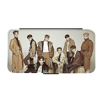 K-pop Ateez סמסונג גלקסי S9 ארנק מקרה