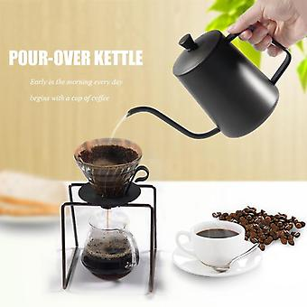 Non-stick Coating Food Grade Stainless Steel Gooseneck Drip Kettle -  Coffee,