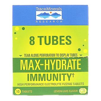 Trace Minerals Max-Hydrate Immunity, Lemon Lime Flavor 10 Tabs