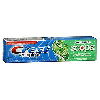 Crest Whitening Plus Scope Toothpaste, Minty Fresh Striped 2.7 oz