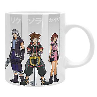Kingdom Hearts Mug Heroes Logo uusi virallinen valkoinen laatikko